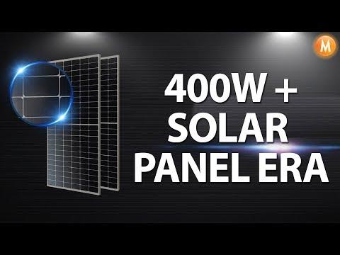 JA Solar 400W Half Cell PERC Mono Solar Panel
