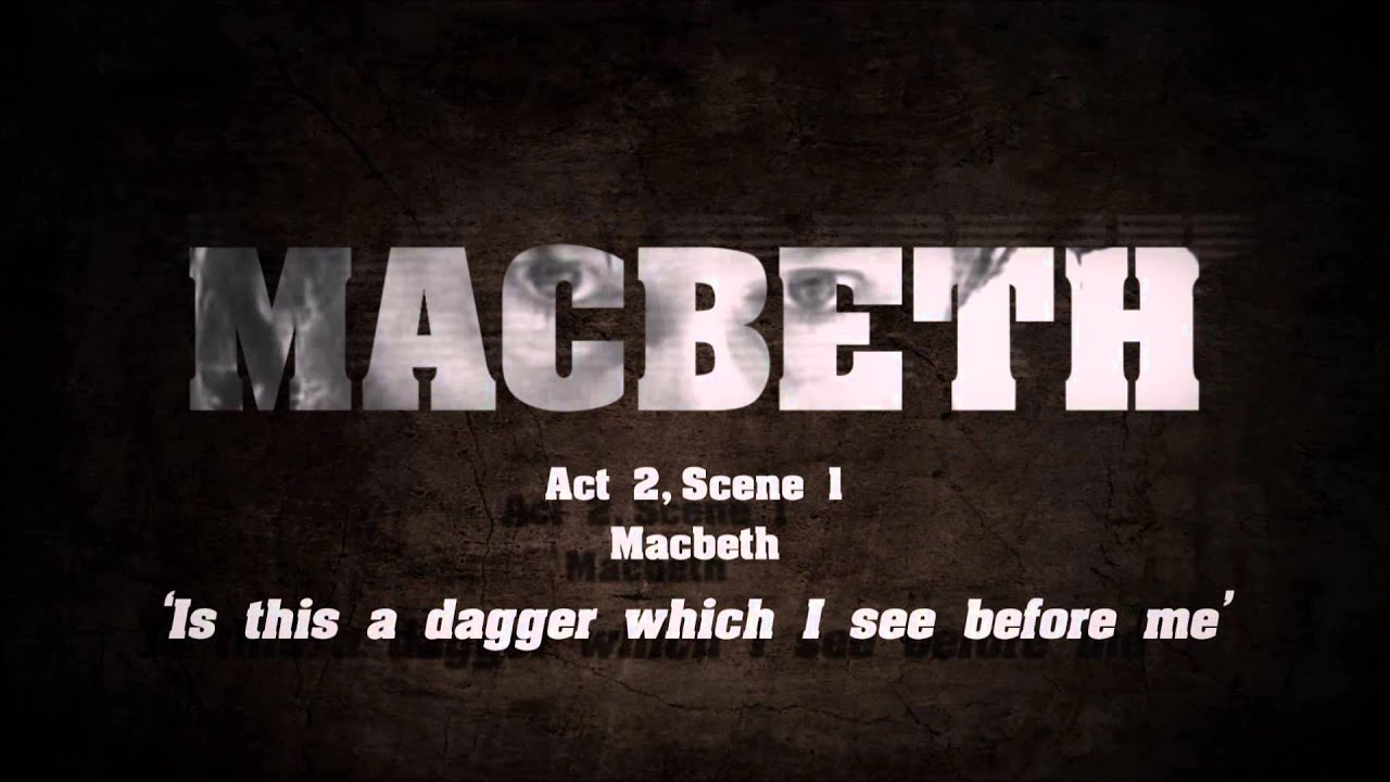 soliloquy analysis of macbeth I've always found this soliloquy to be the one that leaves me feeling the m   macbeth hasn't yet committed the unthinkable, but yet his conscience is already  riddled  my rule of thumb in questions of interpretation of a symbol is that, if  several.