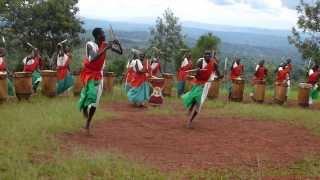 Burundi drummers at Gishora Sancturary