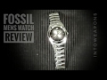 Fossil Men's Watch Review:  Fossil Arkitekt Stainless Steel Watch