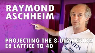 Projecting the 8-Dimensional E8 Lattice to 4D