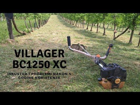 Villager trimer BC 1250 XC - iskustva nakon 4 godine rada - YouTube