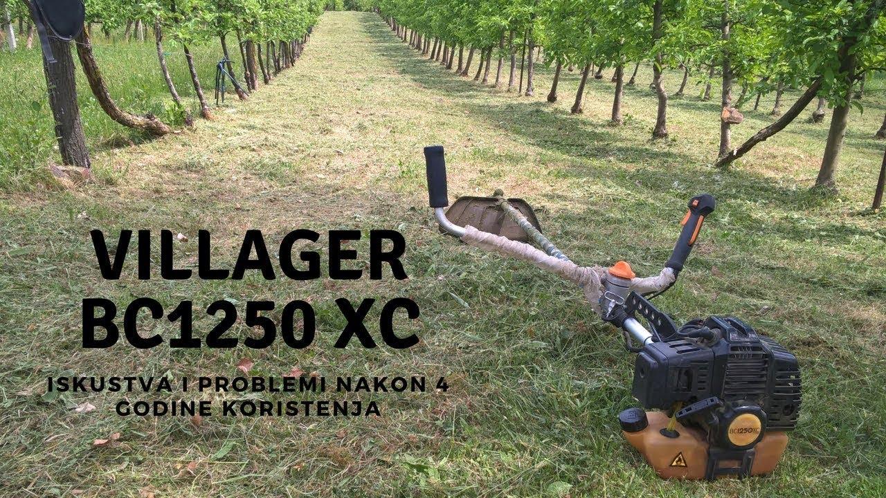 Villager trimer BC 1250 XC - iskustva nakon 4 godine rada