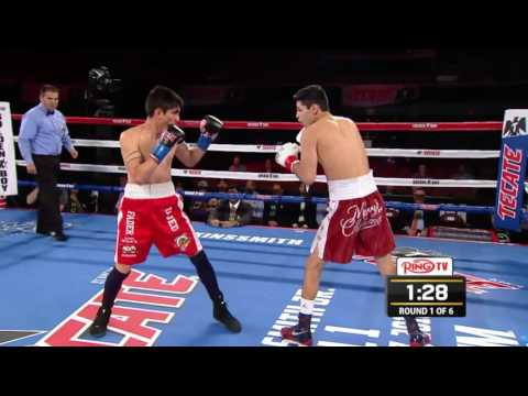 RYAN GARCIA VS ANTONIO MARTINEZ, INGLEWOOD, CALIFORNIA, VIA RING TV