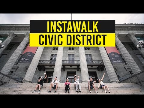 Re-Discovering The Heart of Singapore In The Civic District - #InstaWalk With MND Singapore