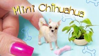 Miniature Chihuahua Tutorial // Dolls/Dollhouse // SugarCharmShop