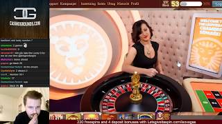 Roulette - Decent streak with the numbers.