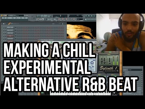 Making a Chill Experimental Alternative R&B Beat in FL Studio  - Jhene Aiko or SZA Type