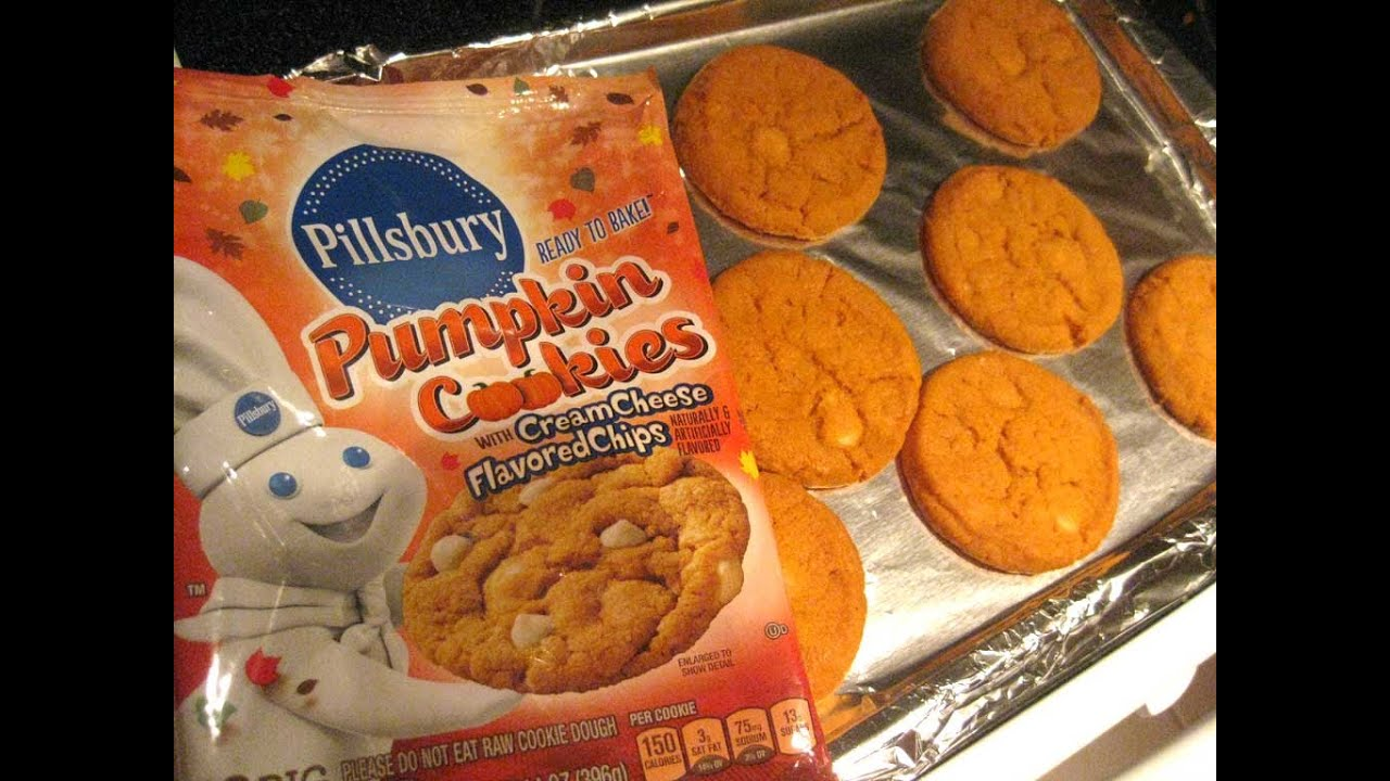 pillsbury pumpkin cookies with cream cheese flavored chips review