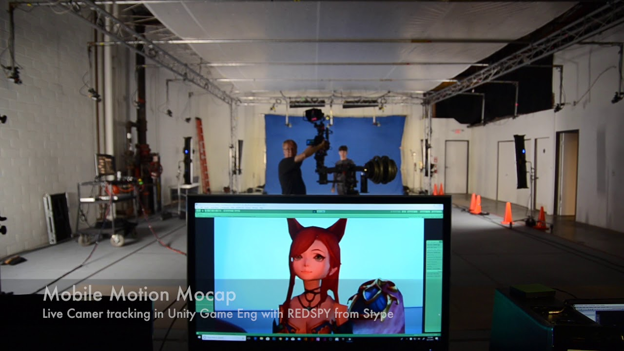 Unity Fox demo Live Mocap streaming into Unity eng
