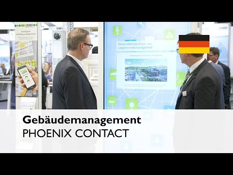 PHOENIX CONTACT at the Light+Building 2018: Smart building technology with Emalytics