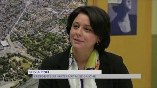 Politique : Sylvia Pinel (PRG) en campagne aux Mureaux
