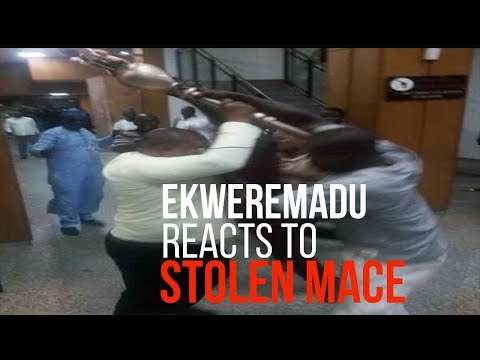 "How Deputy Senate President reacted to ""stolen mace"""