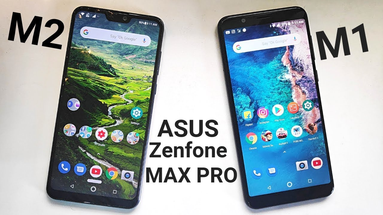 Asus Zenfone Max Pro M2 vs Max Pro M1 - Speed | Benchmark | RAM Management!