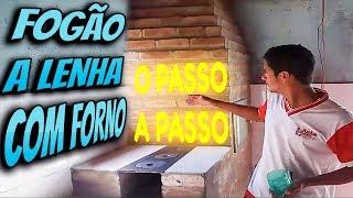 Download Video Como FAZER um FOGÃO A LENHA e um FORNO do COMEÇO ao FIM! MP3 3GP MP4