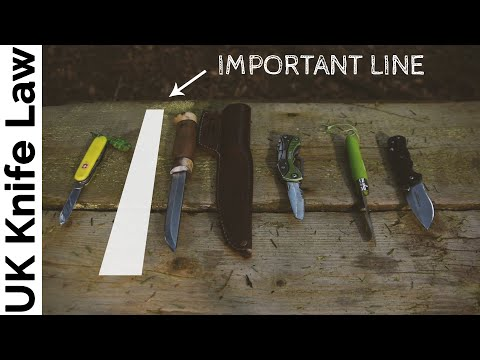2018 UK Knife Law changes, my opinion and the knives I carry outdoors