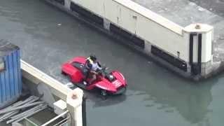 BMW沙灘車+水上摩托車 水陸兩用車 Video