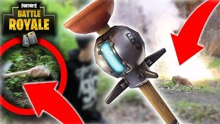 I DID the SPIDER MONKEY with a FORTNITE in real life! * wow * DIY