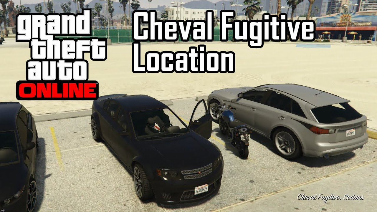 GTA Online - Cheval Fugitive Location - YouTube