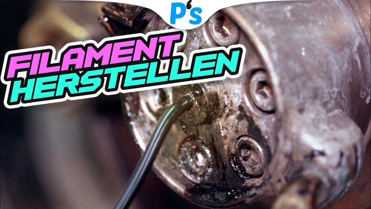 So Wird Filament Hergestellt Material 4 Print Youtube