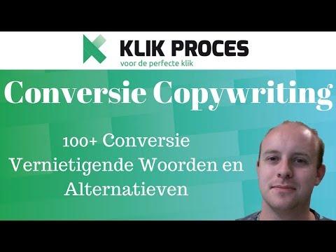 100 conversie vernietigende woorden en alternatieven