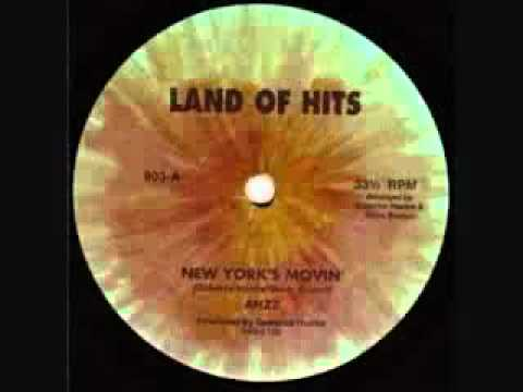 """Ahzz - New York's Moving 12"""" Vocal and longest version 1981"""