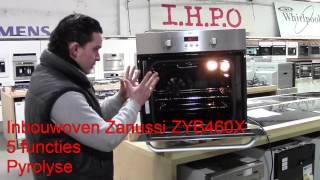 IHPO Deal: Inbouwoven Zanussi