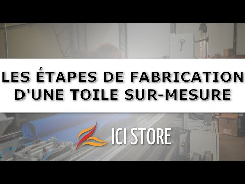 Ici Storecom Fabrication Dune Toile De Store Banne Sur Mesure Dickson