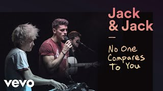 "Jack & Jack - ""No One Compares to You""  Performance 