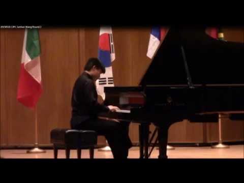 Junhao Wang Plays Berg Piano Sonata, Op.  1