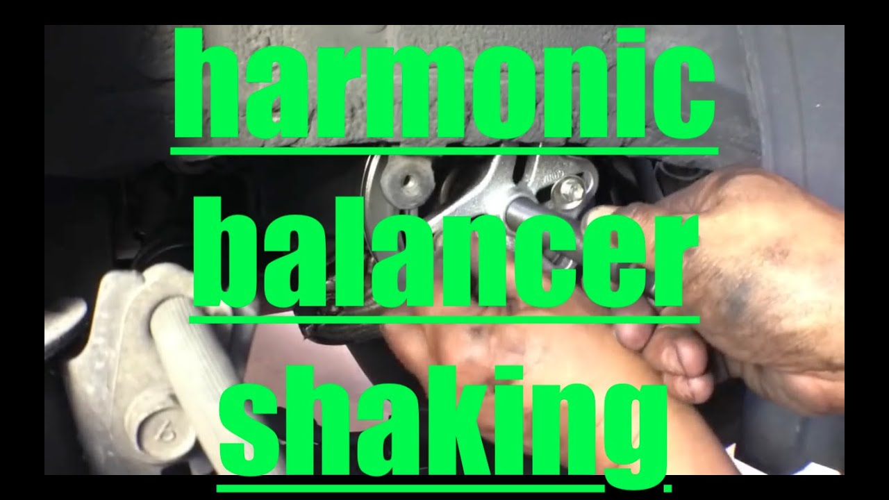 Noisy Shaky Harmonic Balancer Replacement Toyota Camry √  YouTube