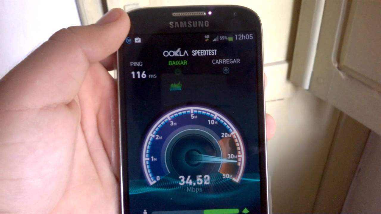 teste velocidade internet movel