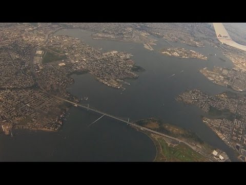 NYC American Airlines Departure LaGuardia Airport - Queens, Bronx, Manhattan, New Jersey