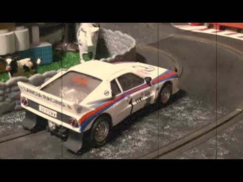 SLOT TRACK SCALEXTRIC RALLY