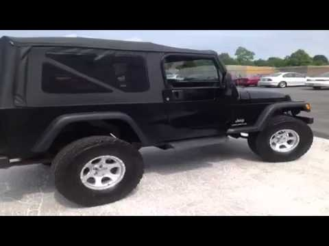 2004 jeep wrangler 2dr unlimited lwb 2 door sport utility youtube freerunsca Gallery