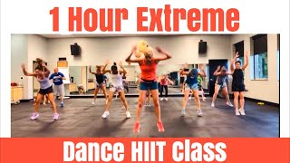 1 Hour Extreme Dance HIIT Class