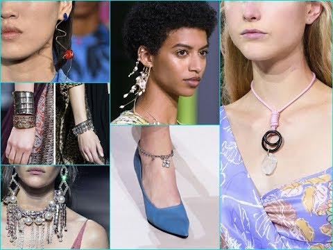 2018 Spring\Summer Jewelry Trends for Your Fashion LookBook