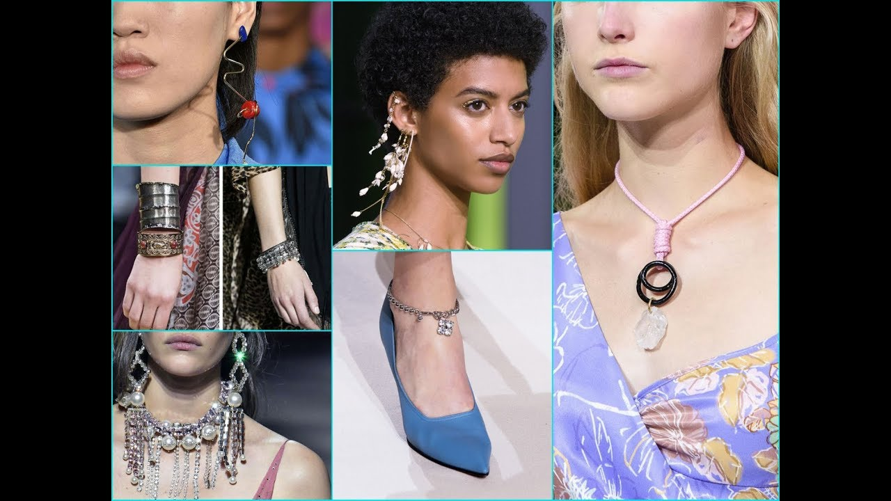 2018 Spring Summer Jewelry Trends For Your Fashion Lookbook Youtube