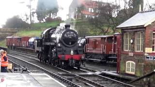 North Yorkshire Moors Railway ROYAL SCOT Visit 01/04/17