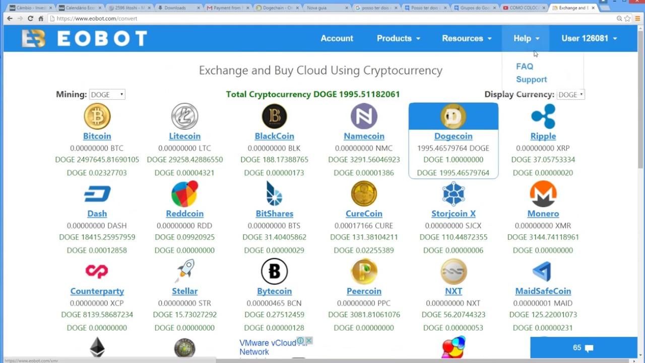 vmware de negociação de bitcoin