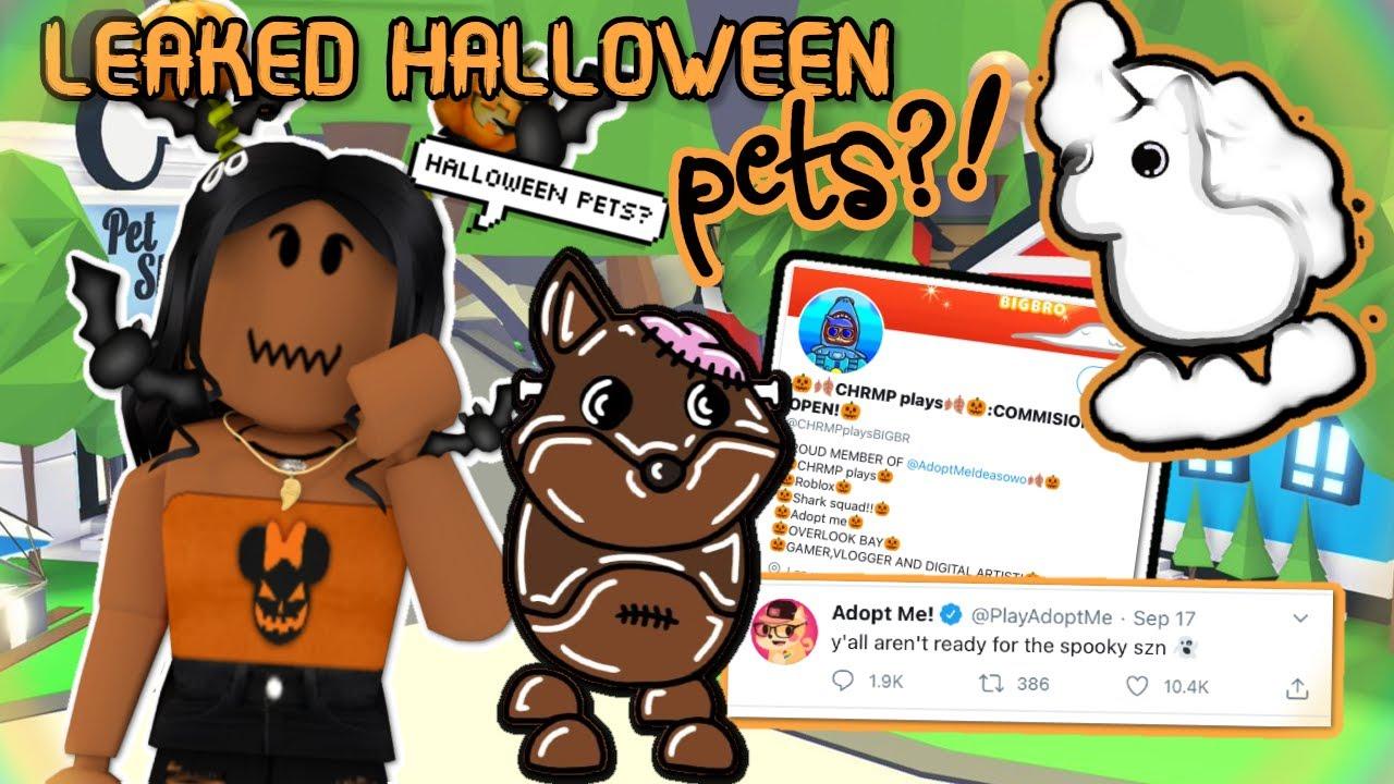 Ghost Unicorn Pet In The Adopt Halloween Update Adopt Me Halloween Pet Ideas Youtube