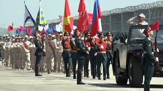 Торжественным маршем: на авиабазе Хмеймим прошел Парад Победы