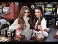 Cheryl Cole pulls pints with Tina McIntyre in the Rovers Return for Coronation Street special