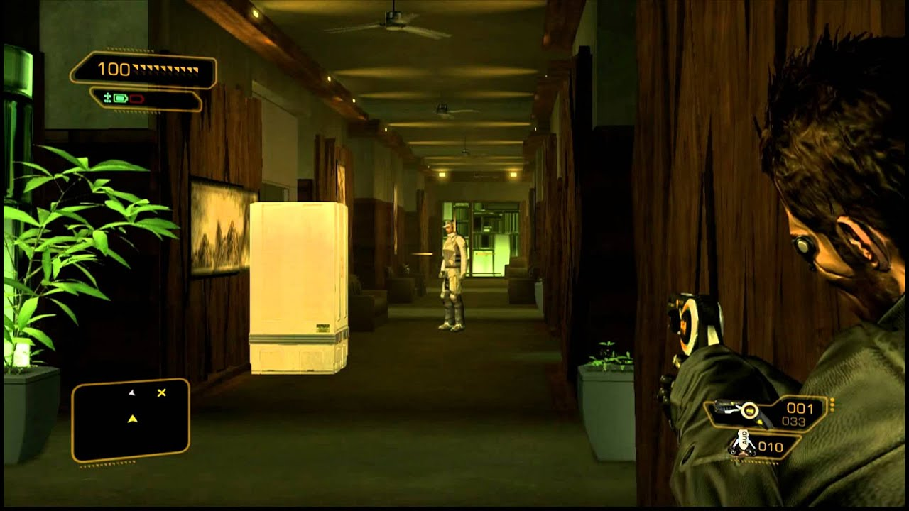 Deus Ex Human Revolution Hunting The Hacker 1 Investigate Apartment Ghost Hd