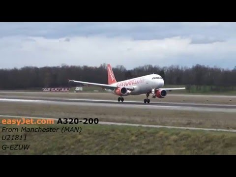 DANGEROUS Crosswind Landings at Basel Euro Airport