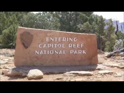 THE BURR TRAIL, CAPITOL REEF NATIONAL PARK, UTAH