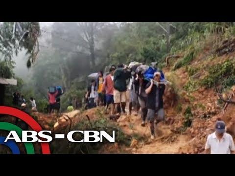 TV Patrol: Mga minero sa Benguet, natabunan ng lupa