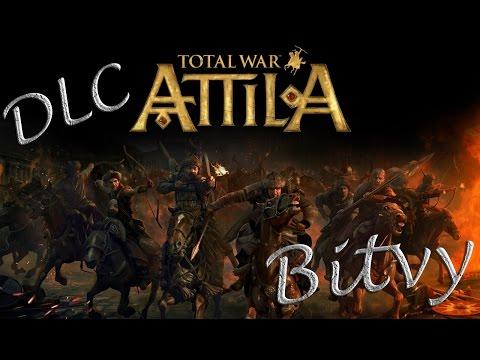 Total War Attila /Ukázky Bitev/ DLC Karel Veliký