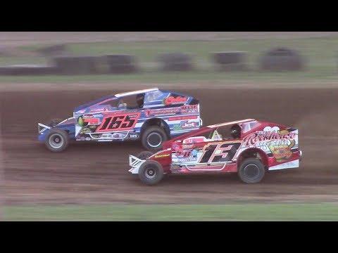 BRP Big Block Modified Heat One | McKean County Raceway | 8-16-17