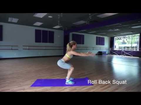 Roll Back Squat Jumps